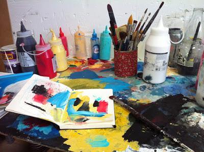 """artxtu-tallersandrapartera4 Sandra Partera - """"Avui no sóc la que vaig ser ahir i demà no seré la que he estat avui"""""""