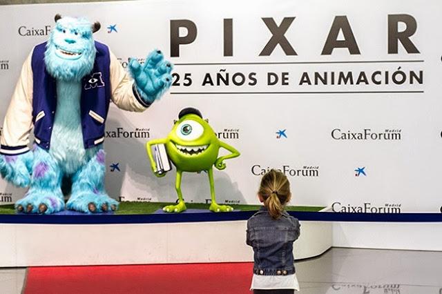 Exposición-Pixar-Madrid Anar d'exposició amb nens (2a part). I la importància d'educar en l'Art