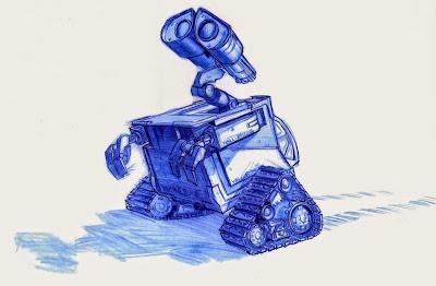 wall-e-walle-disney-pixar-robot-batallon-de-limpieza-concept-art- Anar d'exposició amb nens (2a part). I la importància d'educar en l'Art