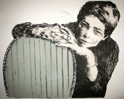 "Lefauteuildibuix-58x70carbonetsobrepaper Gabriel Schmitz - ""Sense fi"""