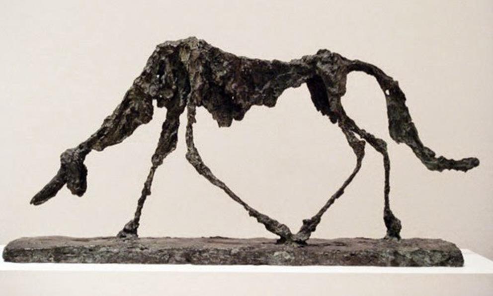 Alberto Giacometti, la fragilitat de l'existència humana