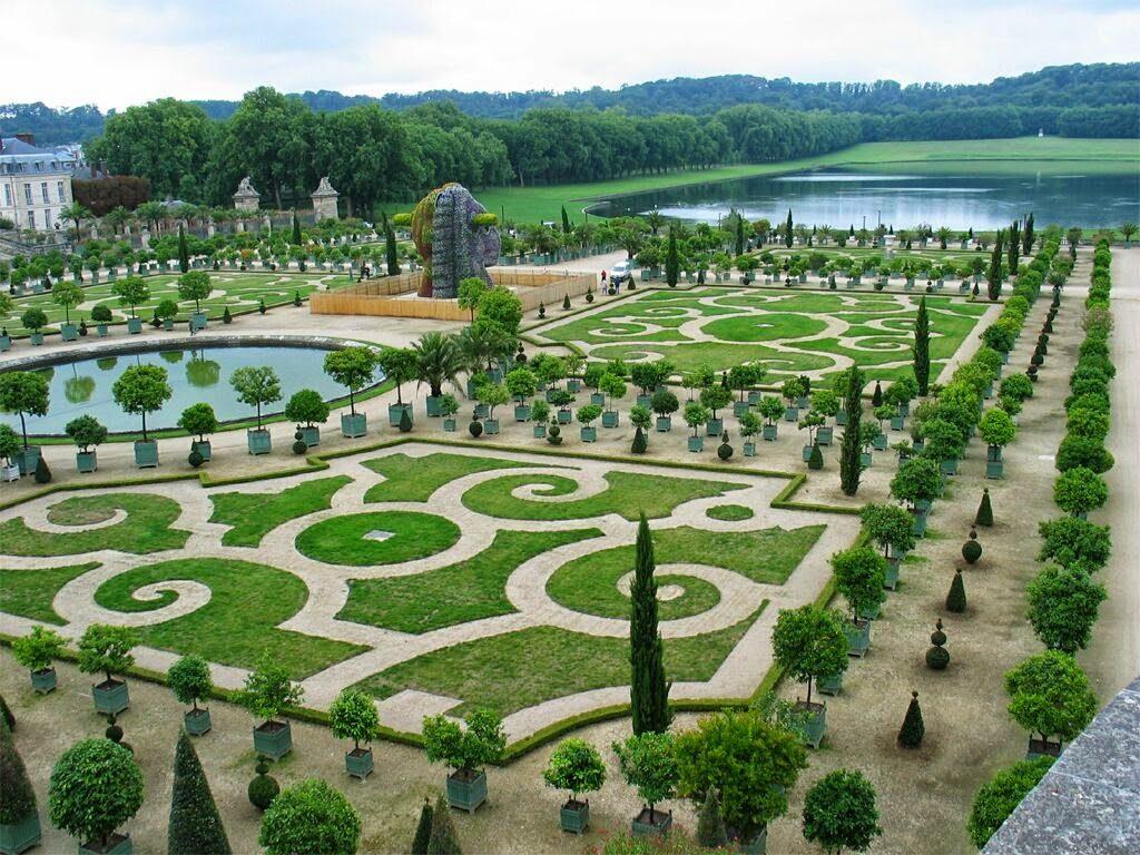 """Versailles_jardins-1024x768 Art floral per Sant Jordi - Celi Comas """"Verd és bo"""""""