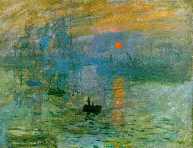 """1024px-Claude_Monet2C_Impression2C_soleil_levant2C_1872 """"Impressió: sol naixent"""" - Impressionisme (1era part)"""