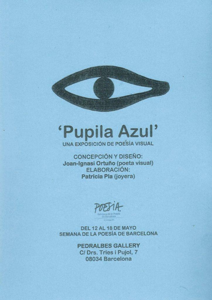 CopisteriaCartellPupilaAzul-724x1024 Patricia Pla - dissenyadora de joies