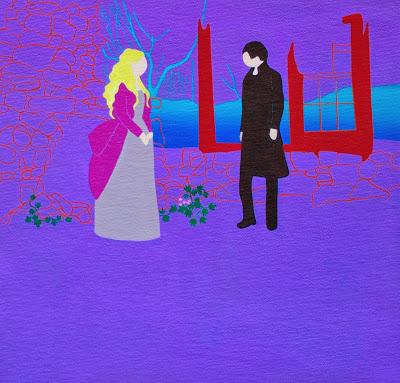 SleepyHolow27x27cmacrílicsobretela El mundo de Inma Sáenz - pintura