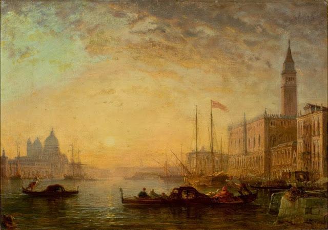 """Ziem_-_O_Canal_Grande_em_Veneza """"Impressió: sol naixent"""" - Impressionisme (1era part)"""