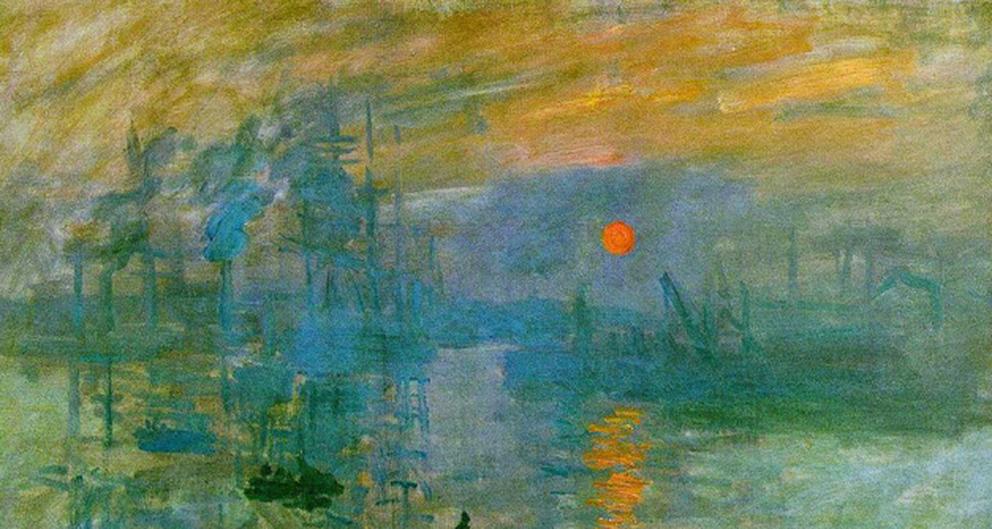 """""""Impressió: sol naixent"""" – Impressionisme (1era part)"""