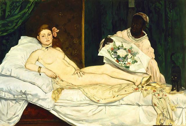 1280px-Edouard_Manet_-_Olympia_-_Google_Art_Project_4 Els grans pintors de l'Impressionisme (2a part)