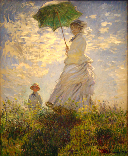 Monet_Umbrella Els grans pintors de l'Impressionisme (2a part)