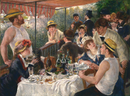 Pierre-Auguste_Renoir_-_Luncheon_of_the_Boating_Party_-_Google_Art_Project Els grans pintors de l'Impressionisme (2a part)