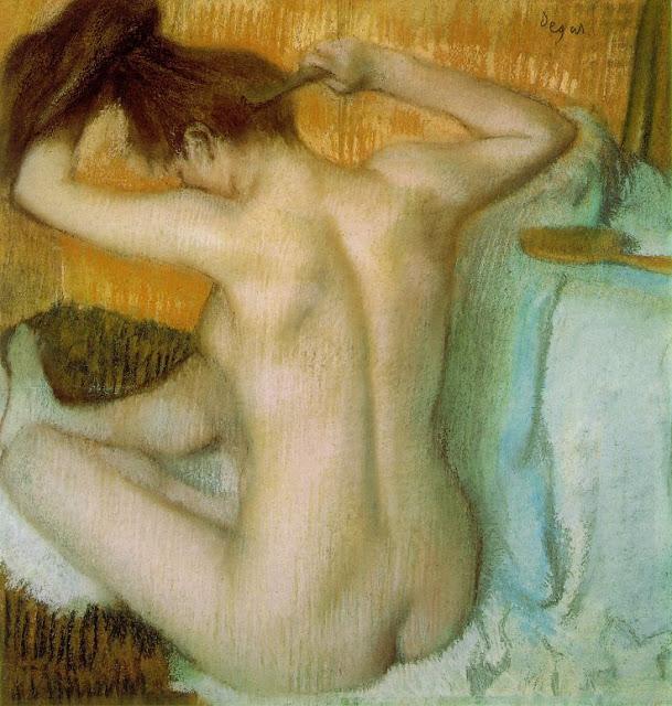 degas_combing_hair Els grans pintors de l'Impressionisme (2a part)