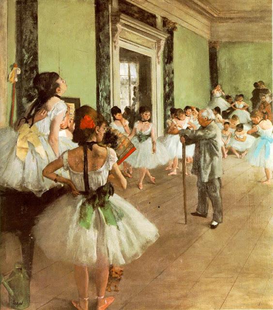 laclassededansa Els grans pintors de l'Impressionisme (2a part)