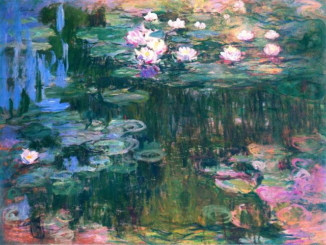 water-lilies-1917-4 Els grans pintors de l'Impressionisme (2a part)