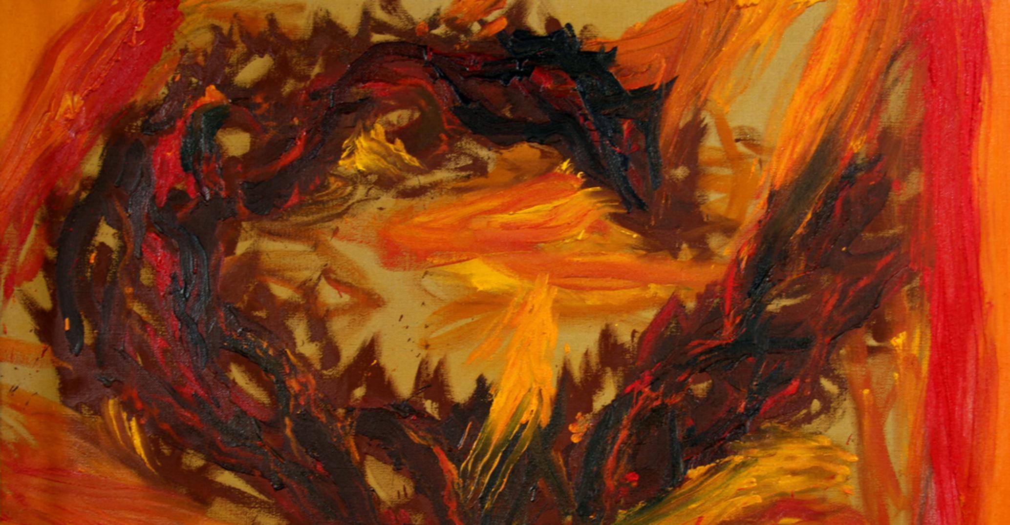 """Oriol Sàbat – """"…el foc, l'espai i el temps fet a miques"""""""