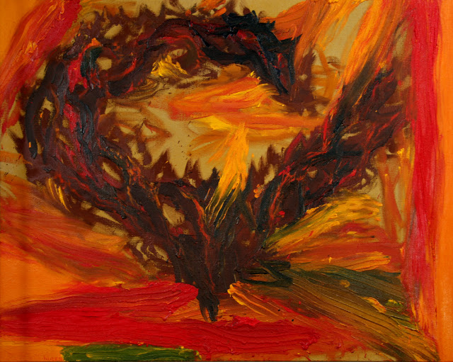 """IMG_9630 Oriol Sàbat - """"...el foc, l'espai i el temps fet a miques"""""""