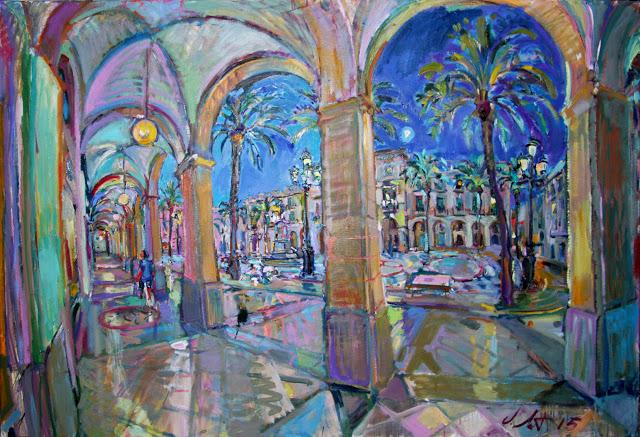IMG_1490 Jordi Santacana - La llum i el color per damunt de tot