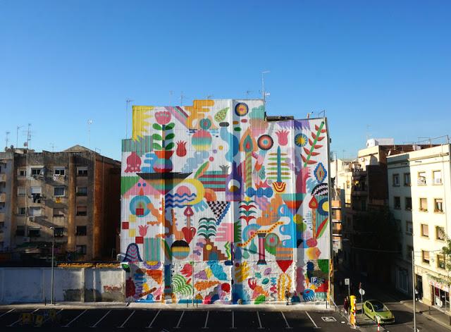 artxtu-minahamadayzosen3 Zosen y Mina Hamada - Pintura mural