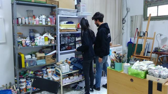 artxtu-tallerminahamada2 Zosen y Mina Hamada - Pintura mural