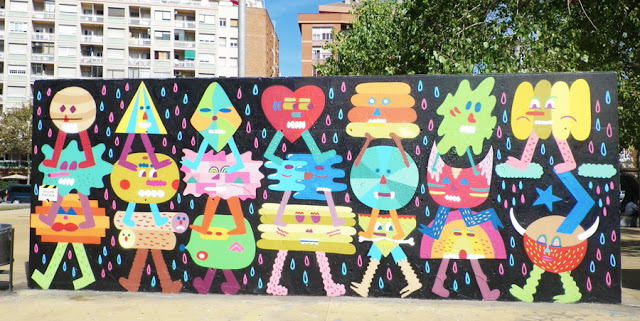 artxtu-zosen Zosen y Mina Hamada - Pintura mural