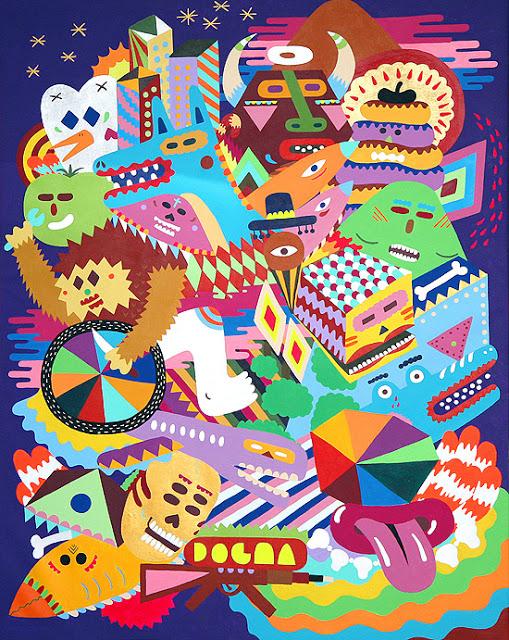 artxtu-zosen2 Zosen y Mina Hamada - Pintura mural