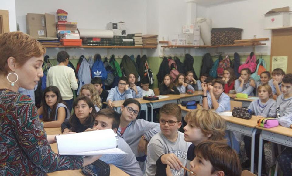 ARTxTu fa formació a l'Escola Voramar – Com mirar un quadre?