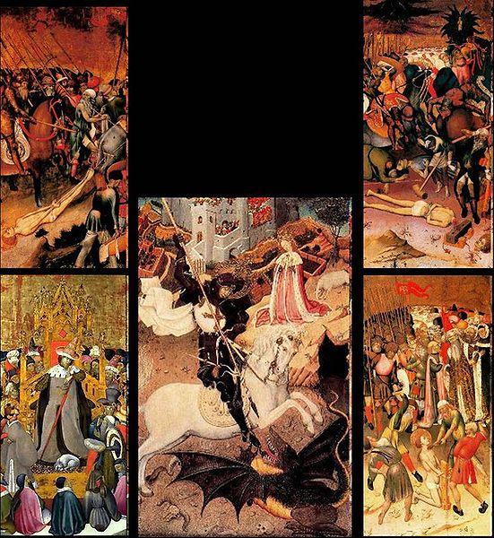 artxtu-bernatmartorell Sant Jordi matant el Drac
