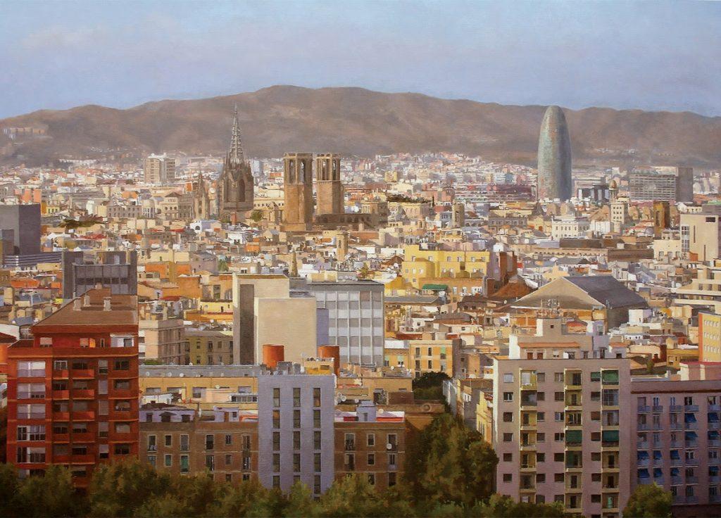 artxtu-moreno-1024x736 Col·lectiva de pintors Hiperrealistes a la Galeria Súbex