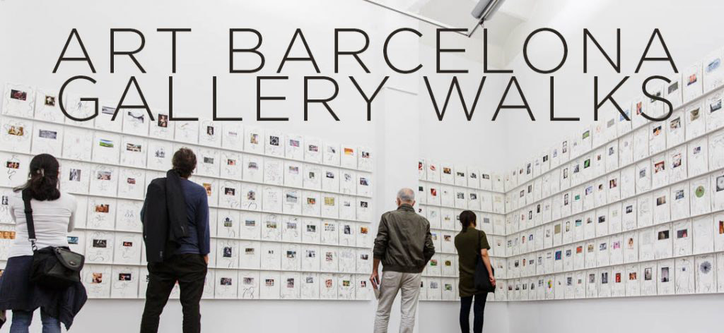 Art Barcelona Gallery Walks