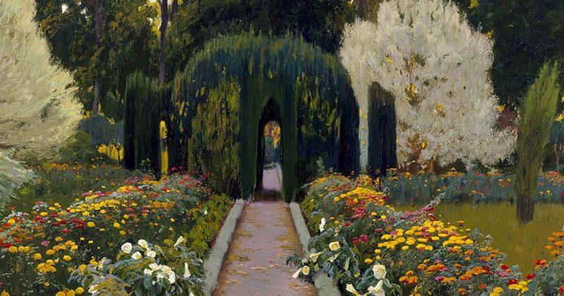 Santiago Rusiñol. Jardins d'Espanya