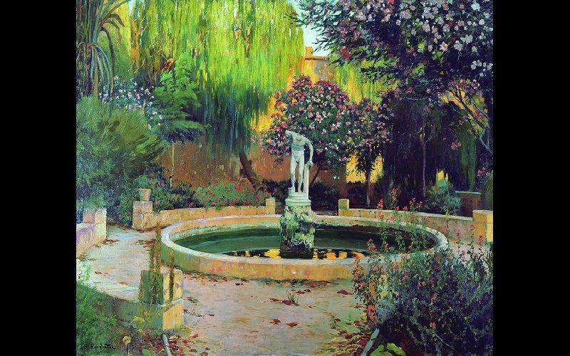artxtu-rusinol2 Santiago Rusiñol. Jardins d'Espanya