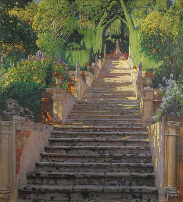artxtu-rusinol3 Santiago Rusiñol. Jardins d'Espanya