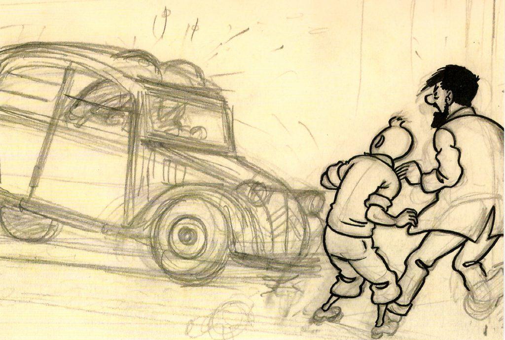 "vinyeta-1024x690 El convidat Marc Castellà: ""Còmic, Tintin i Art"""