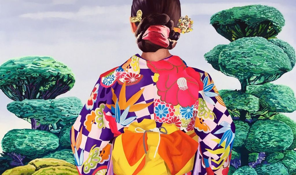 """artxtu-alejandraatares-1024x606 """"Group Show"""" - Galeria Víctor Lope"""