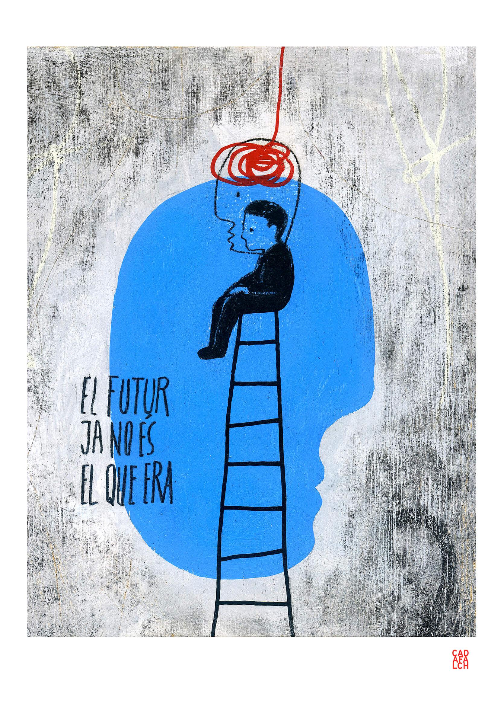 03.El-Futur-A3 Lluís Cadafalch - Obra gràfica