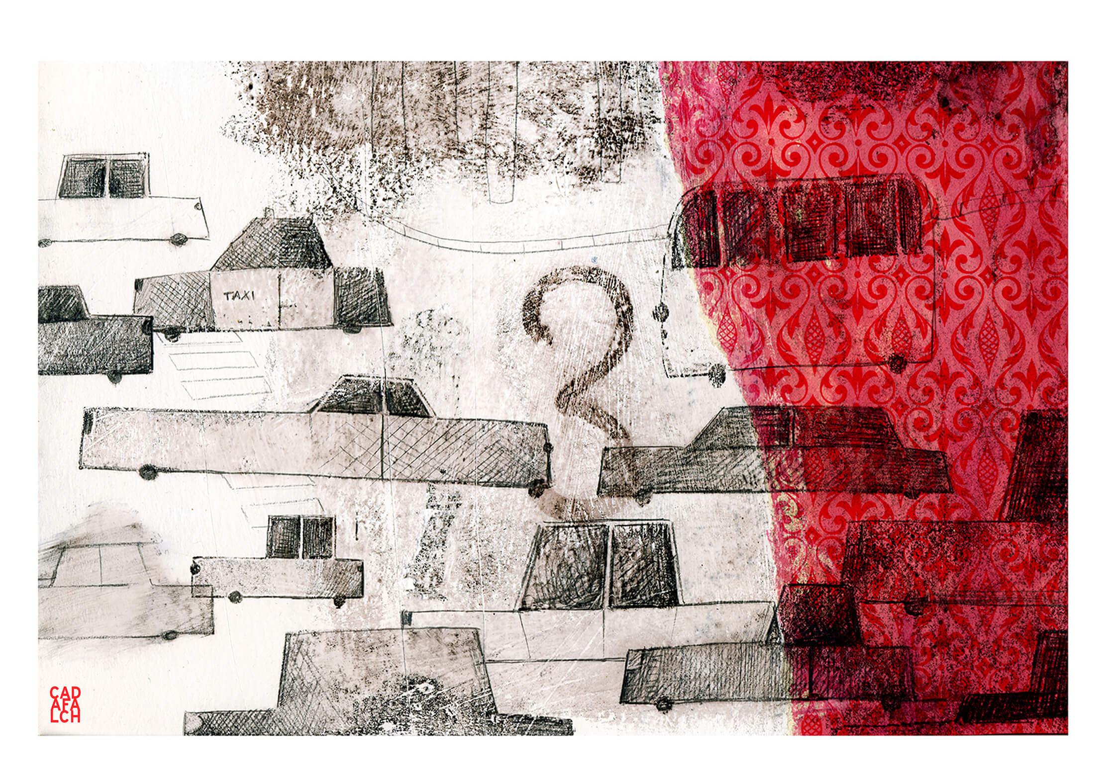 07.Cotxes-A3 Lluís Cadafalch - Obra gràfica