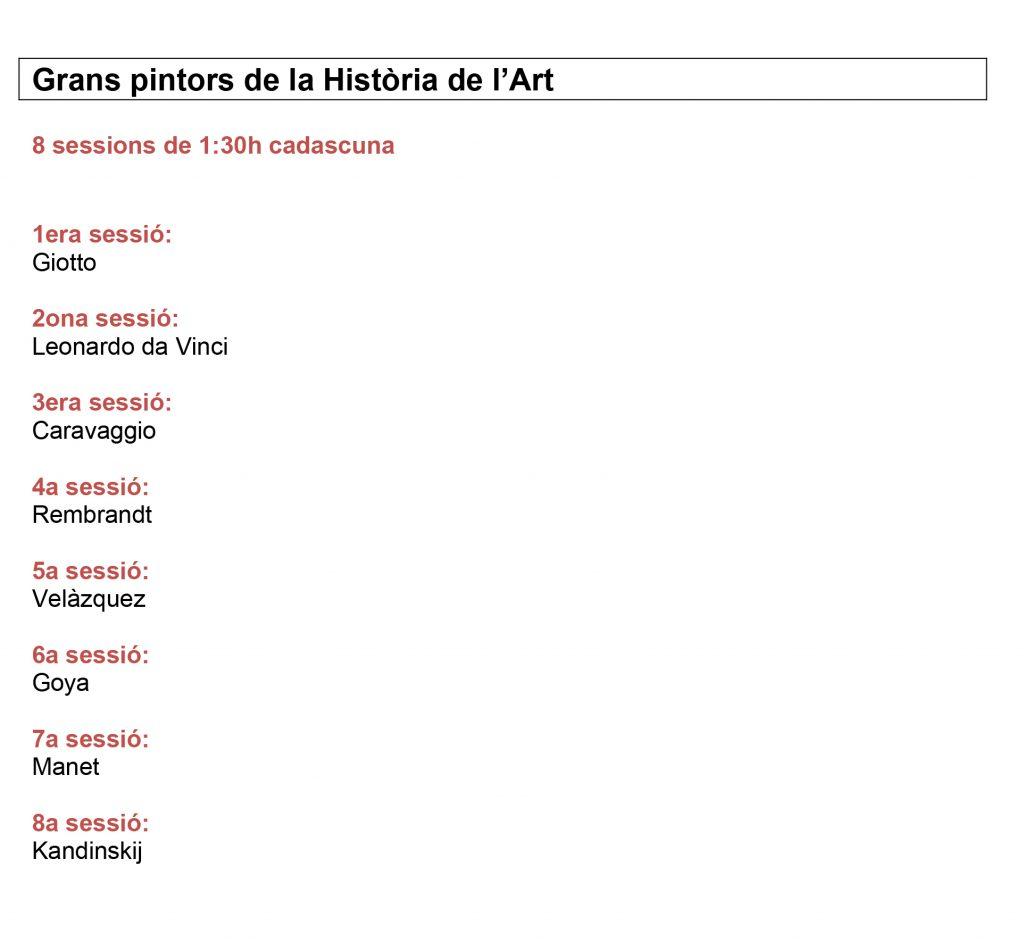 Grans-pintors-de-la-Història-de-lArt-programa-sense-dies-ni-horaris-1024x942 Formació a la Galeria Subex
