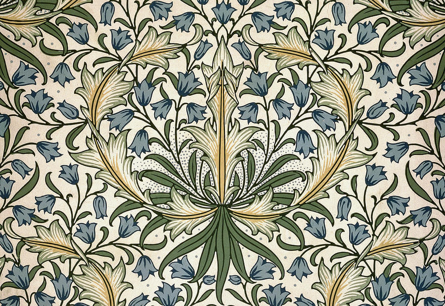 harebell-design-1911-william-morris William Morris al MNAC