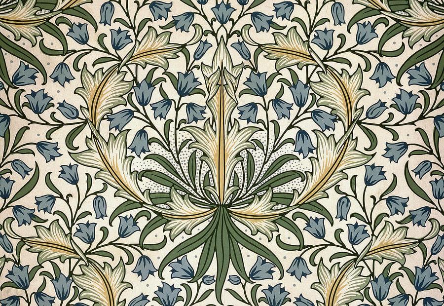 harebell-design-1911-william-morris William Morris al MNAC