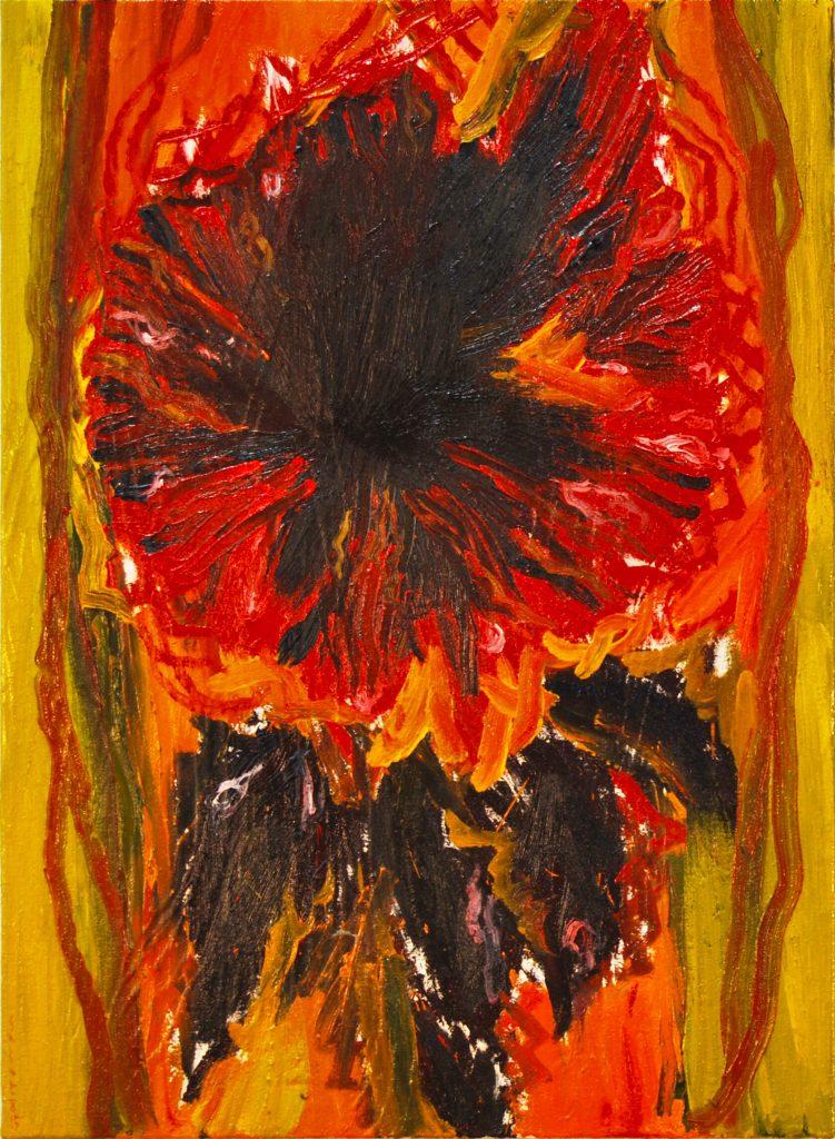 Flor-III-2015-oli-i-làtex-100x73-1-751x1024 Els artistes d'ARTxTu estrenen exposició