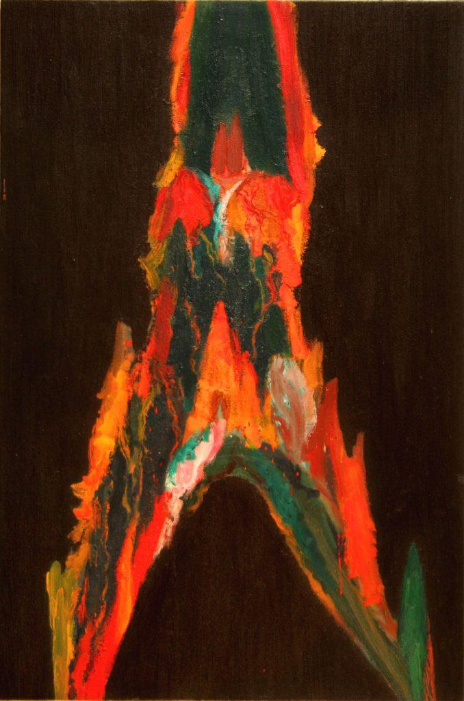 Sàbat-Gran-deessa-en-flames-2005-195x130-1-678x1024 Els artistes d'ARTxTu estrenen exposició