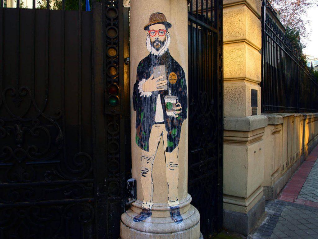 el-caballero-de-la-mano-en-el-iphone-1024x768 TVBoy - Street Art - Petons al mig del carrer