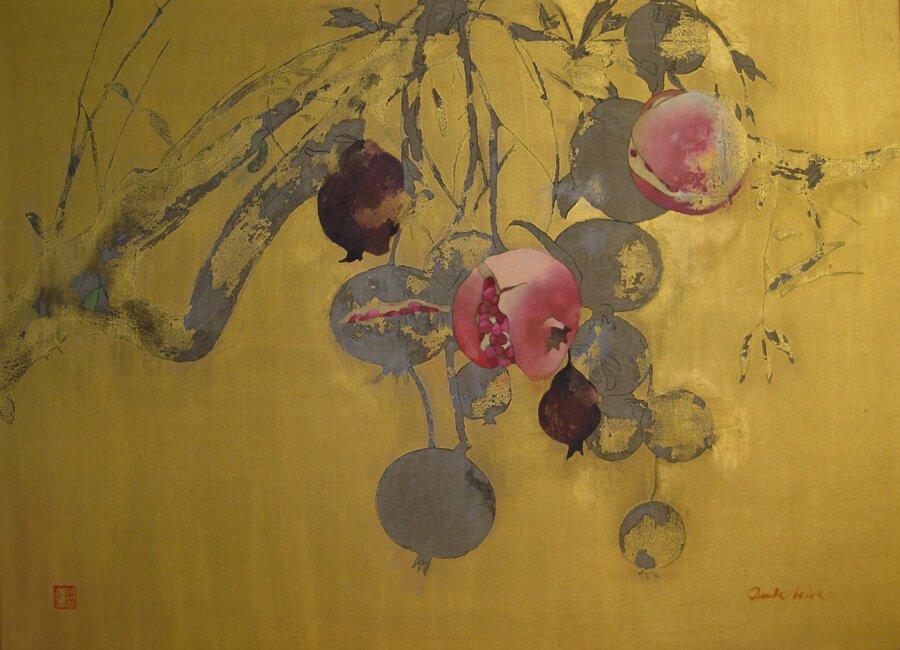 Jardin-escondido-2015-oleo-sobre-tela-100x-70-cms Paula Leiva - Màgica singularitat d'inspiració japonesa
