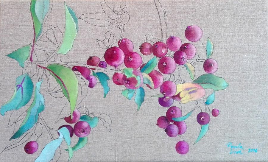 UnfinishedDwarfAppleTree2016 Paula Leiva - Màgica singularitat d'inspiració japonesa