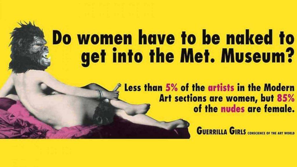 guerrilla-girls-1024x576 Dones artistes - Abans i Ara
