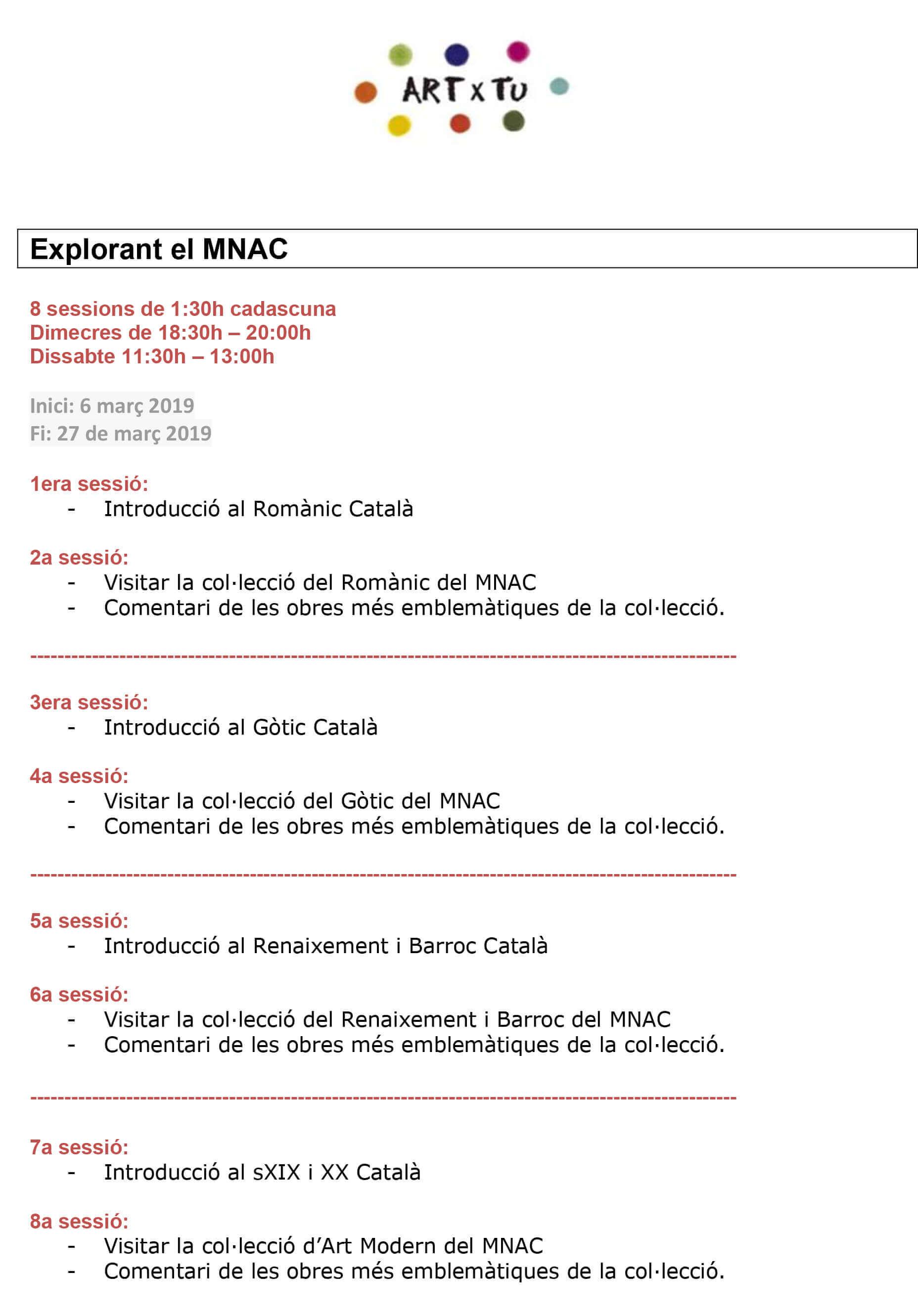 Explorant-el-MNAC-Programa-1 Prueba calendario