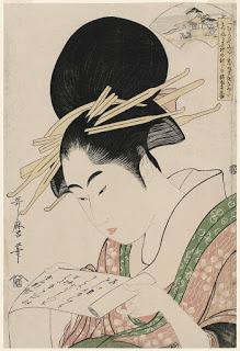 Kitagawa-Utamaro-The-Cloth-fulling-Jewel-River-Tôi-no-Tamagawa-from-an-untitled-series-of-Six-Jewel-Rivers-Mu-Tamagawa_MFA Paula Leiva - Màgica singularitat d'inspiració japonesa