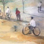 Passeig-amb-bici-36x30-Mixta-sobre-paper-1-150x150 Cristina Cabané - El pols de la vida