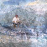 Pensant-davant-del-mar-30x40-Mixta-sobre-tela-150x150 Cristina Cabané - El pols de la vida