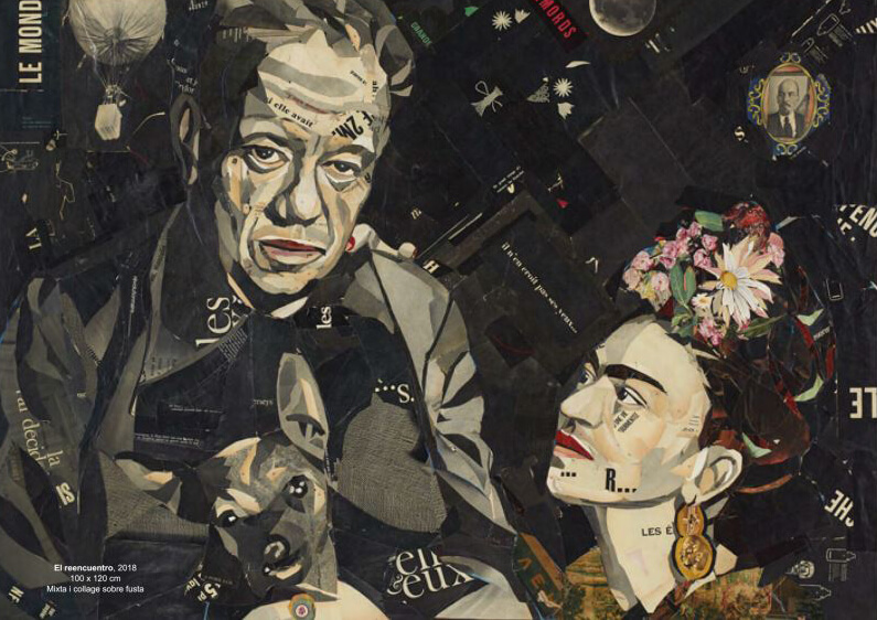 """frida1 """"Frida, a sangre"""" - Pedro García Villegas - Galeria Jordi Barnadas"""