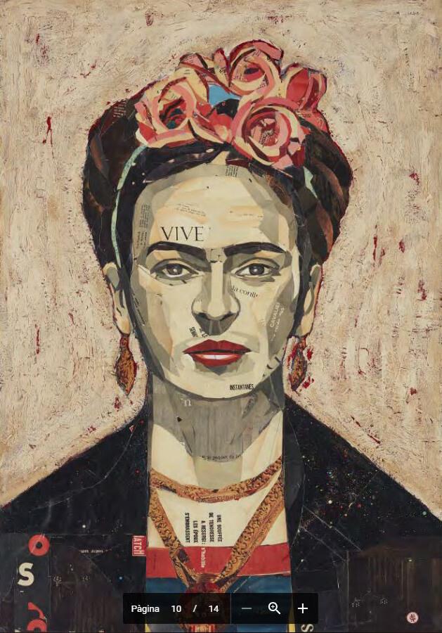 """frida2 """"Frida, a sangre"""" - Pedro García Villegas - Galeria Jordi Barnadas"""